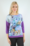 Блуза из трикотажного полотна Арт-2492 Р/Р 50-56