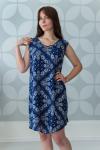 Платье из штапеля Арт-2646 Р/Р 52-58