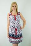 Платье из кулирки Арт-2664 Р/Р 46-52