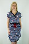 Платье из кулира Арт-2691 Р/Р 46-52