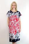 Платье из кулирки Арт-2741 Р/Р 50-56