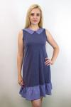 Платье из меланжированной вискозы Арт-2752 Р/Р 44-50