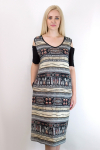 Платье из вискозы Арт-2778 Р/Р 48-56