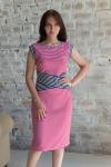 Платье из вискозы с лайкрой Арт-2781 Р/Р 44-48