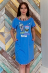 Платье из кулирки Арт-2798 Р/Р 44-54