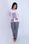 Пижама из смешанных полотен Арт-2828 Р/Р 44-50