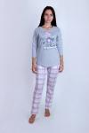 Пижама из комбинированных полотен Арт-2843 Р/Р 44-52