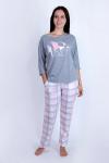 Пижама из комбинированных полотен Арт-2845 Р/Р 48-54
