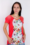 Блуза из вискозы Арт-2858 Р/Р 52-58