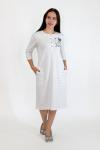 Платье из фулл лайкры Арт-2876 Р/Р 46-52