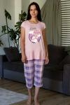 Пижама из комбинированных полотен Арт-2882 Р/Р 42-48