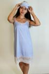 Сорочка из хлопковой ткани Арт-2915 Р/Р 44-50