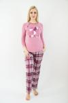 Пижама из комбинированных полотен Арт-2486 Р/Р 46-52