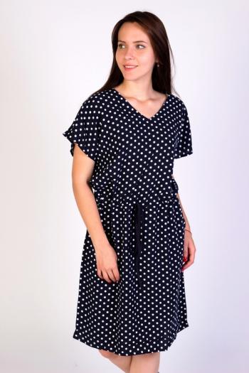 Платье из штапеля Арт-2688 Р/Р 46-56